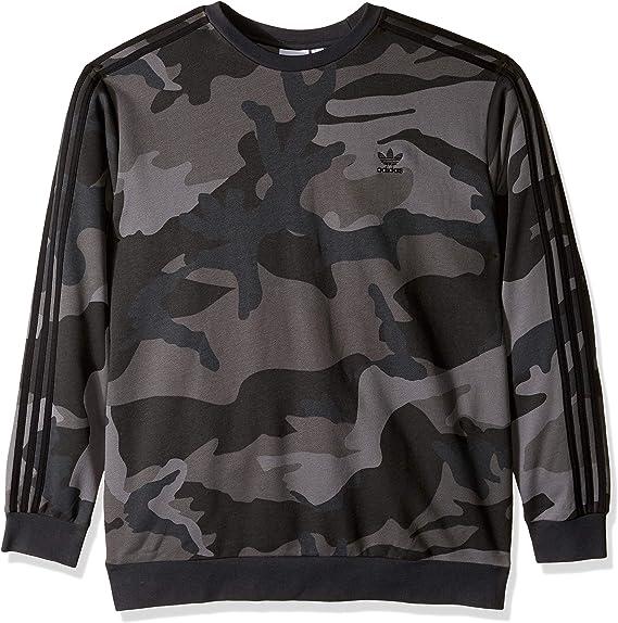 Ojalá Psicológico Campo de minas  adidas Originals Mens Camo Crewneck Sweatshirt Sweater: Amazon.ca: Clothing  & Accessories