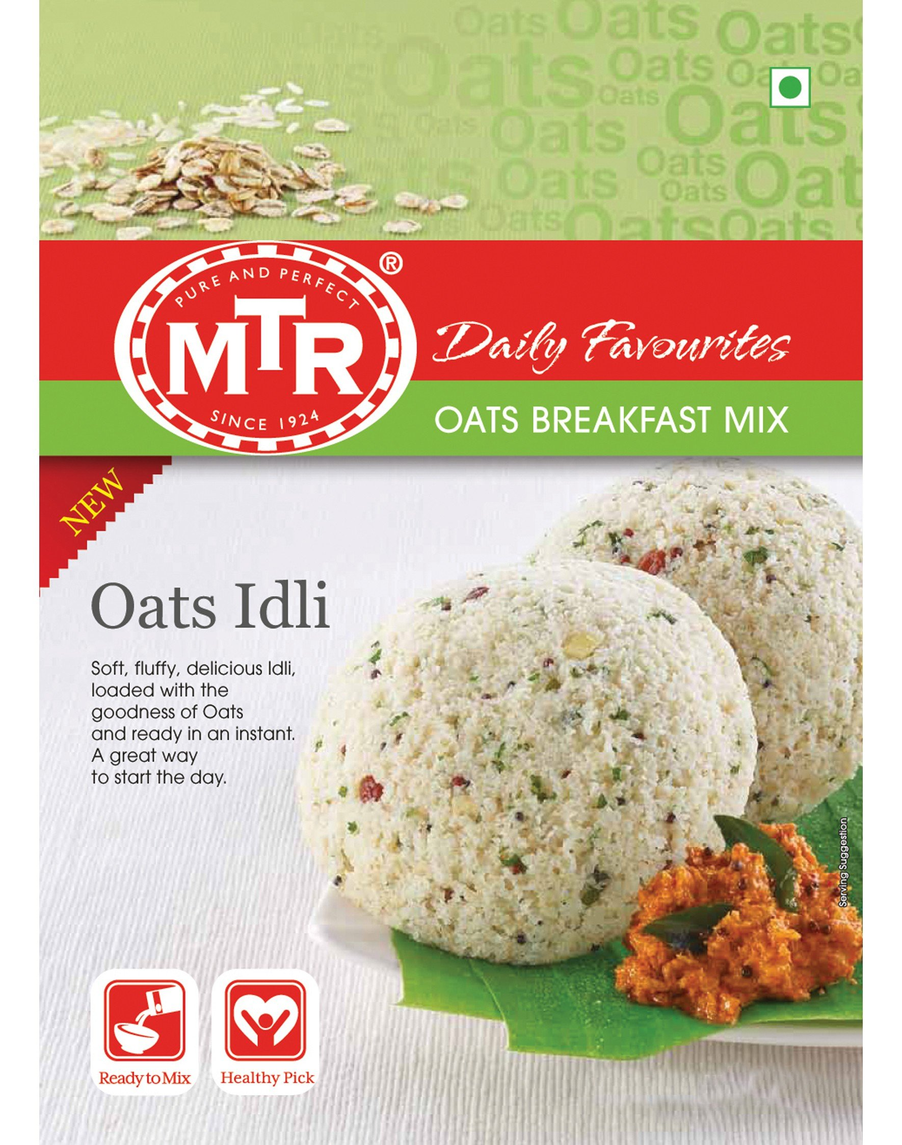MTR Oats Idli