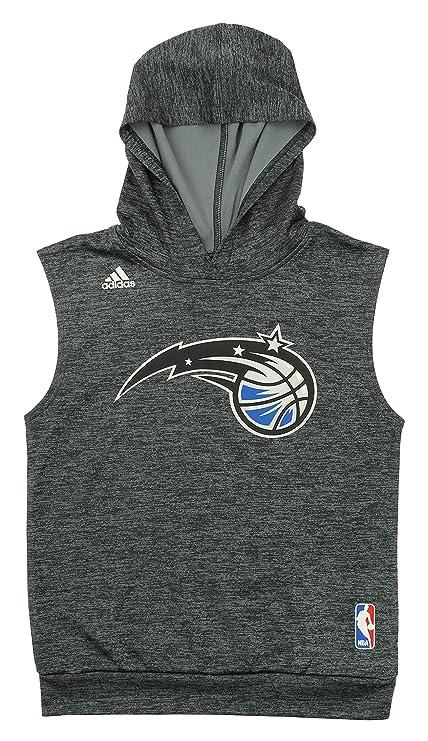 a382676af23 Amazon.com  adidas NBA Youth Boys Orlando Magic Sleeveless Hoodie ...