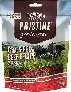 Castor & Pollox Pristine Grain Free Grass Fed or Free Range All Natural Dog Treats