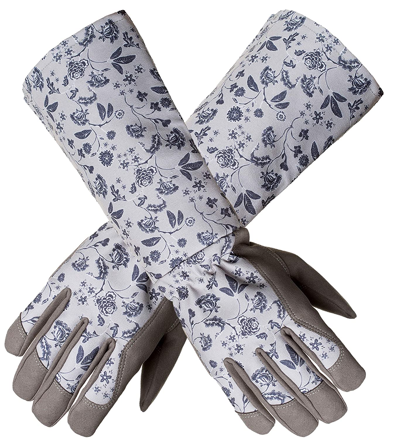 Women Garden Work Gloves, KAYGO KG128SG, For Every Beautiful Women and Her Lovely Garden (Long Forearm)