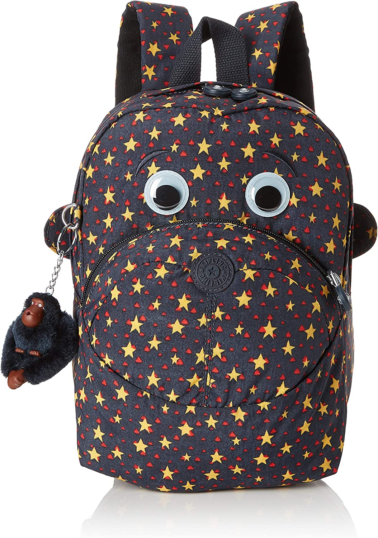 Kipling Faster Mochila Escolar, 28 cm, 7 Liters, (Cool Star Boy ...