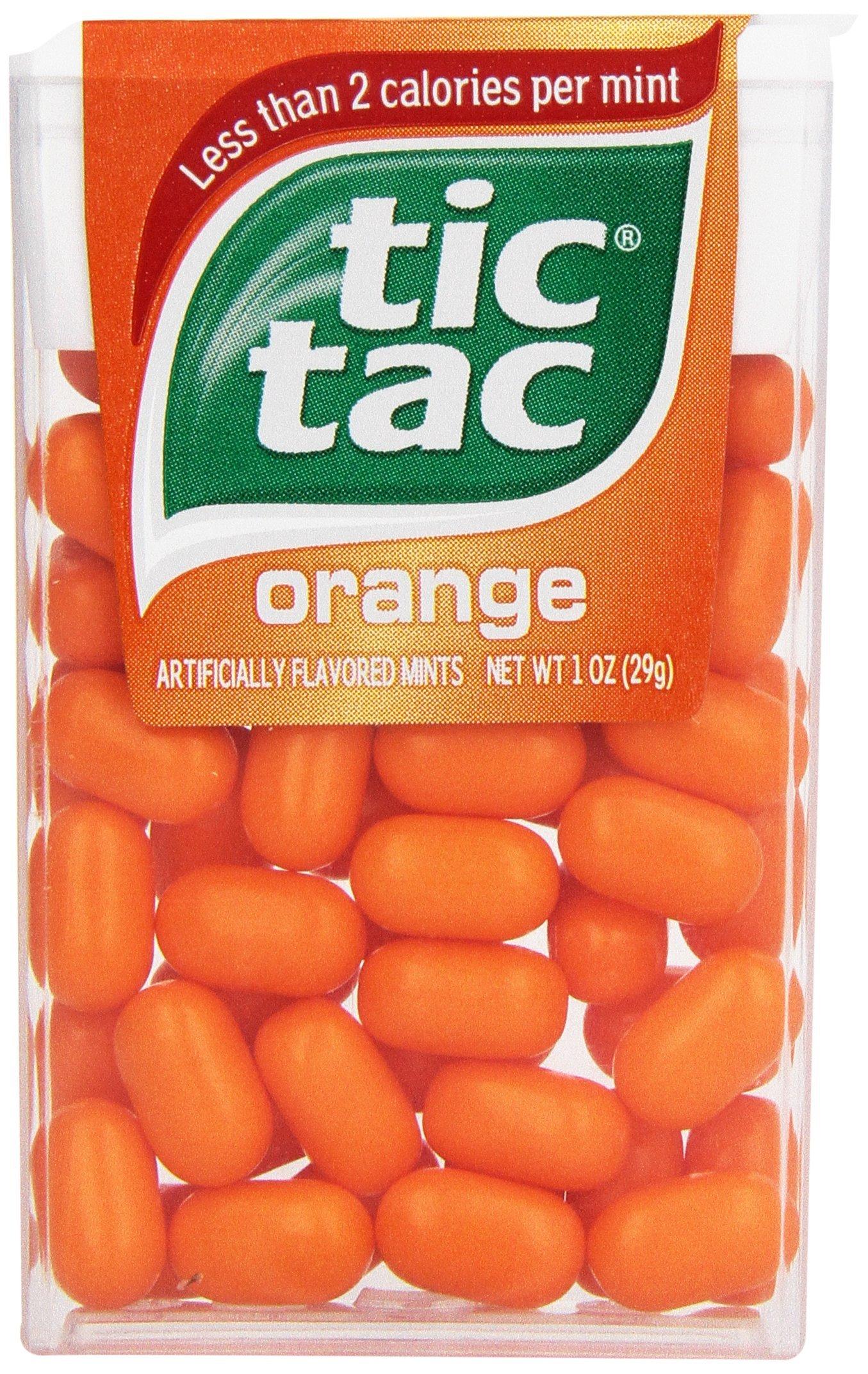 tic tac mints orange 1 oz 12 count
