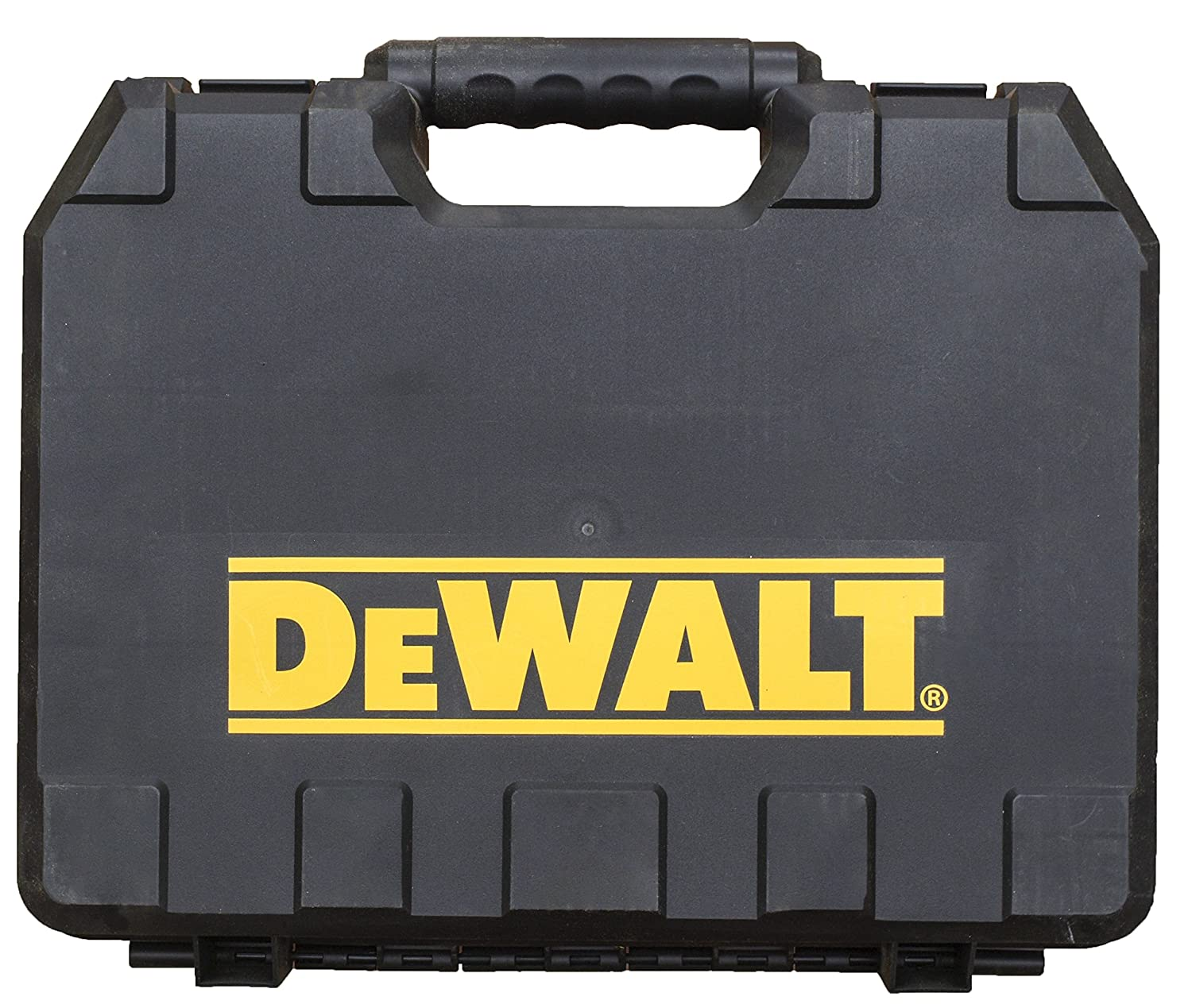 DeWalt Single Tool Hard Plastic Case with Integrated Handle in Retail Packaging