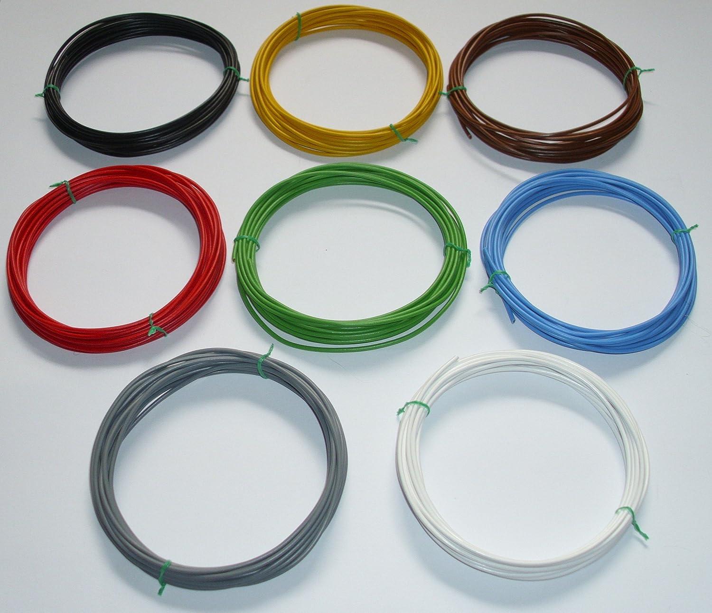 2,5mm/² Kfz Kabel Litze Flry Blau 5m /€ 1,19//m