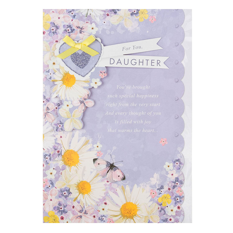 Amazon Daughter Luxury With Lovely Verse Hallmark Birthday Card Wonderful