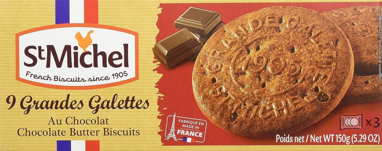 Saint Michel Grande Gallete de Chocolate - 150 gr - [Pack de 6]: Amazon.es: Alimentación y bebidas