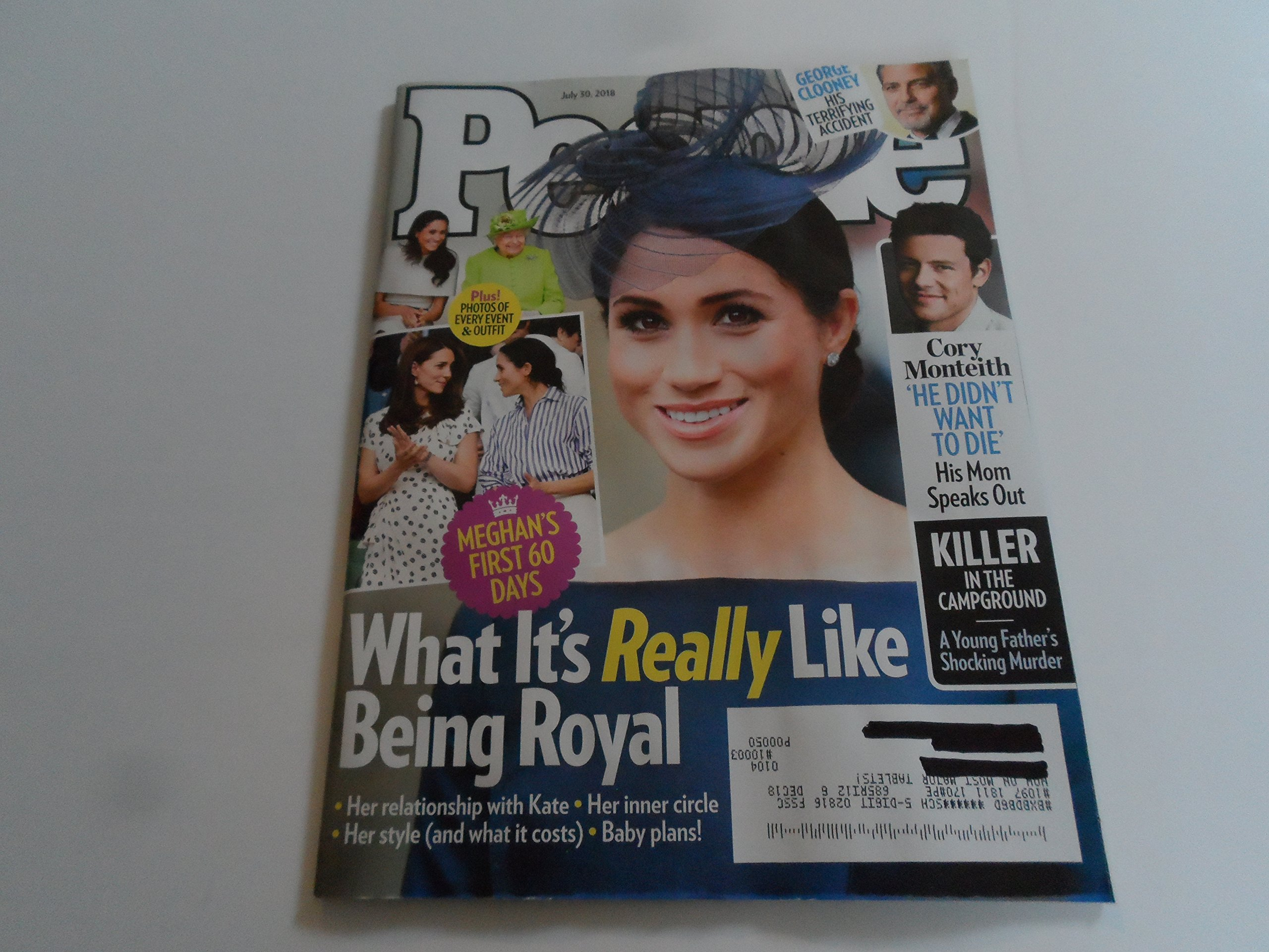 Download People Magazine (July 30, 2018) What It's Really Like Being Royal Meghan Markle Cover PDF