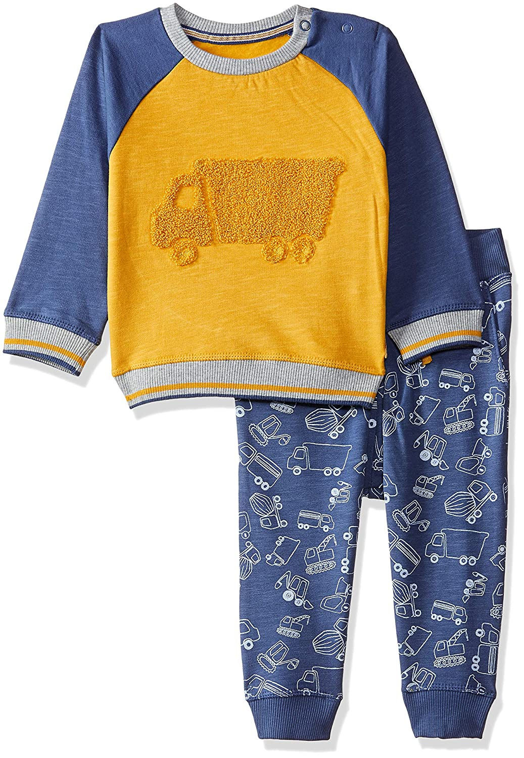 Mothercare Baby Boys Truck Crew and Jog Set Tracksuit