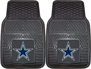 product image for FANMATS - 8274 NFL Dallas Cowboys Vinyl Heavy Duty Car Mat,Set of two.