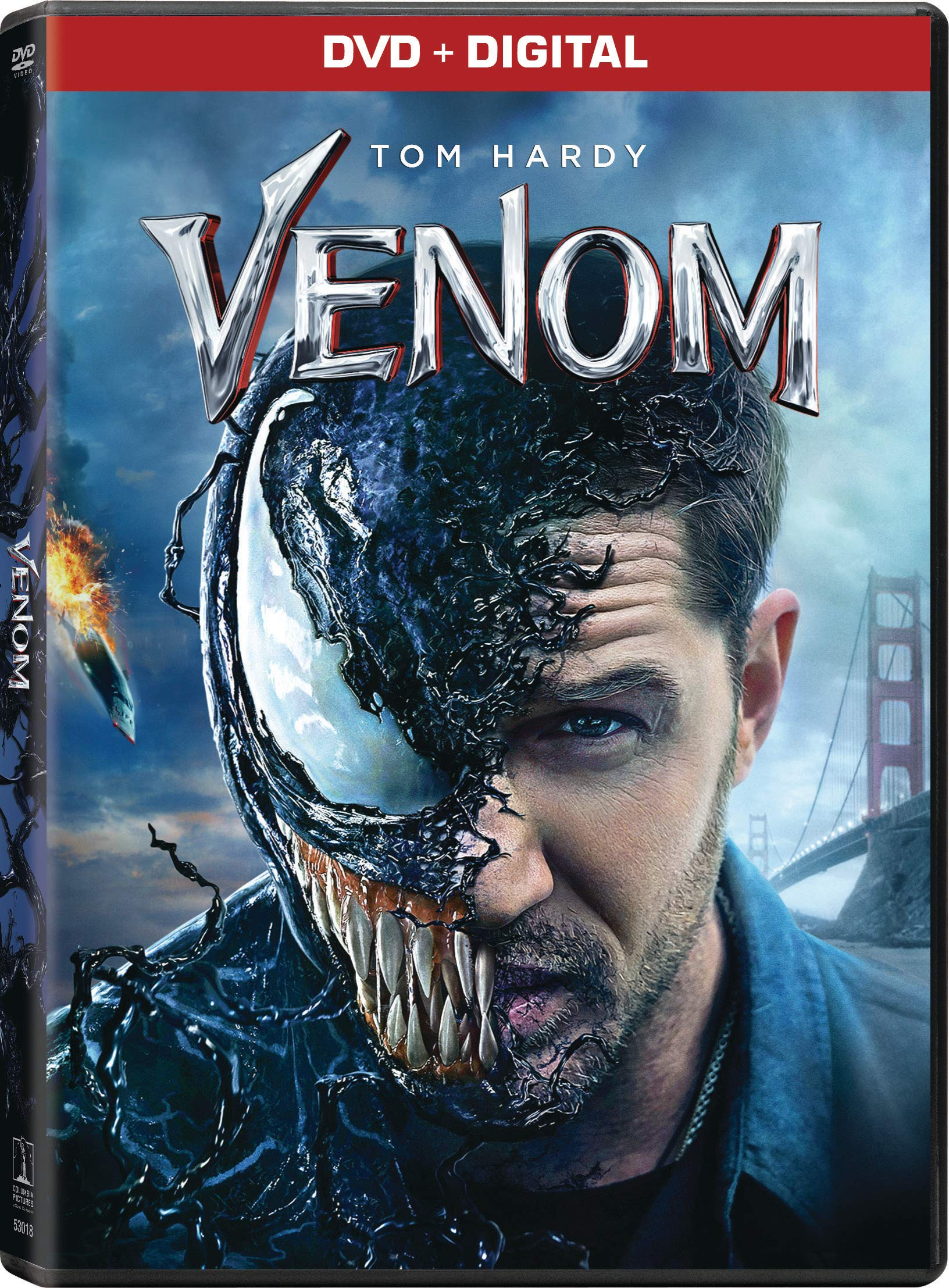 DVD : Venom (Digital Copy, AC-3)
