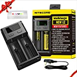 Nitecore i2 (New 2016 version) Intelligent Charger Universal Smart Battery Charger