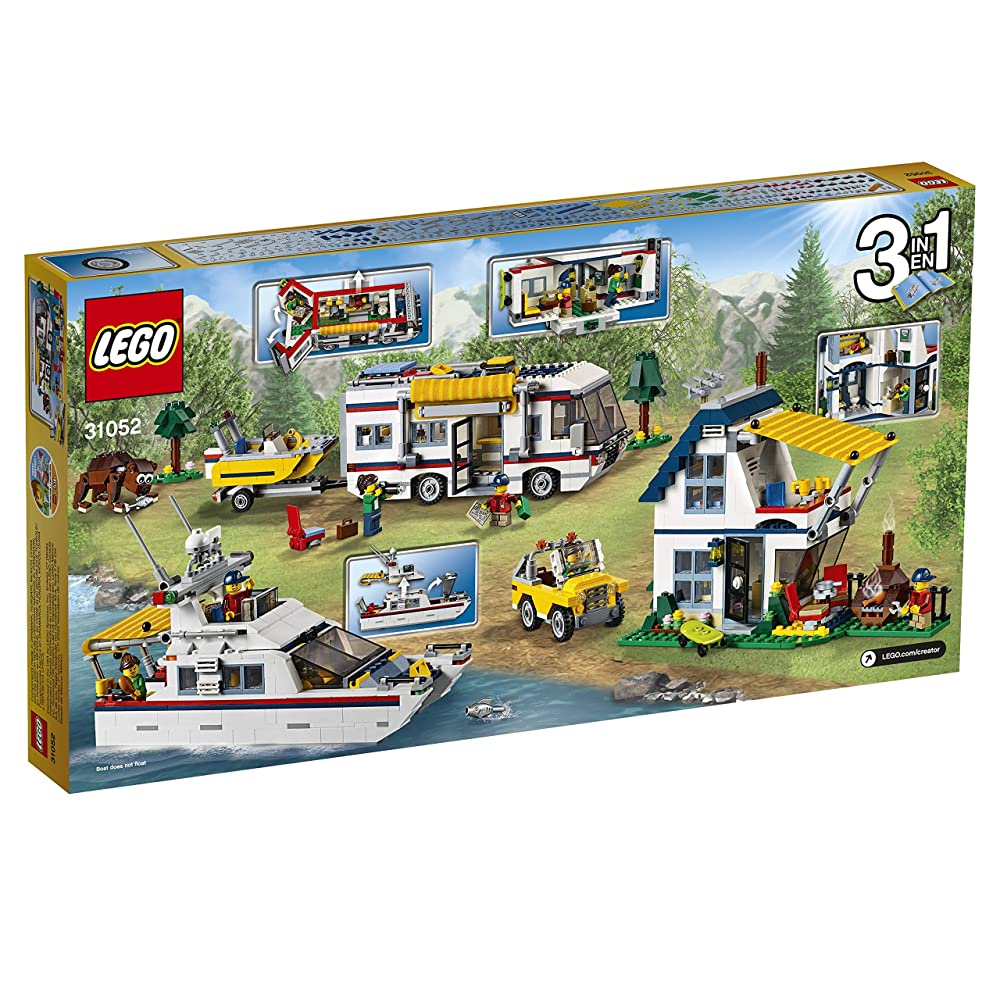 LEGO Creator 31052 乐高创意百变系列度假露营车