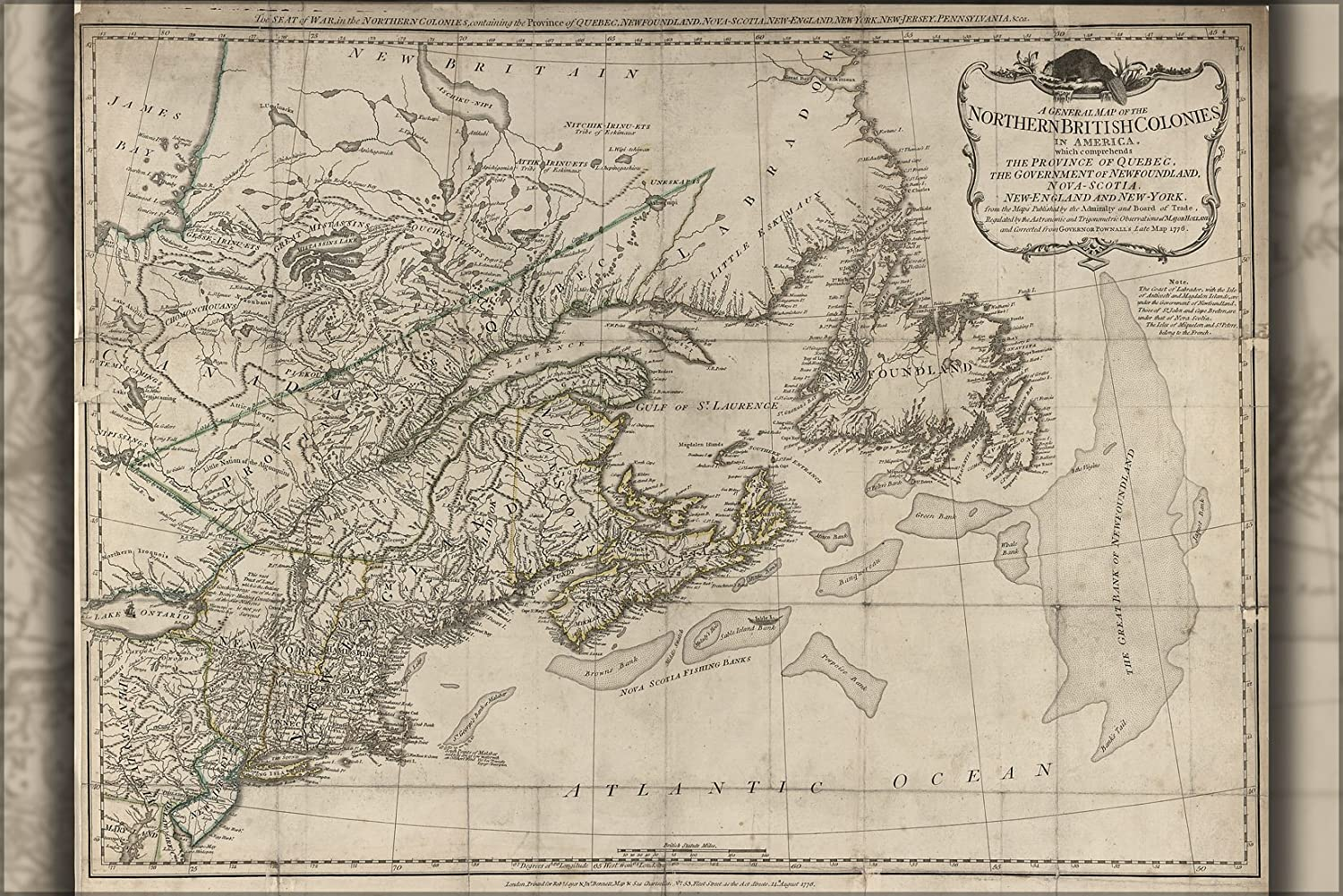 Amazon.com : 20x30 Poster; Map Of New England Machusetts ... on map of long island 1776, map of north america 1776, map of nantucket 1776, map of manhattan 1776, map of africa 1776, map of germany 1776, map of great britain 1776, map of american colonies 1776, map of mexico 1776, map of united states 1776, map of texas 1776, map of dorchester heights 1776, map of california 1776, map of massachusetts 1776, map of philadelphia 1776, map of alaska 1776, map of canada 1776, map of russia 1776, map of trenton 1776, map of virginia 1776,