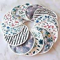 Eco Baby Planet Breast Pads - Reusable Nursing Pads (12 Pack) - Washable Organic Bamboo Breastfeeding Pads - Bonus…