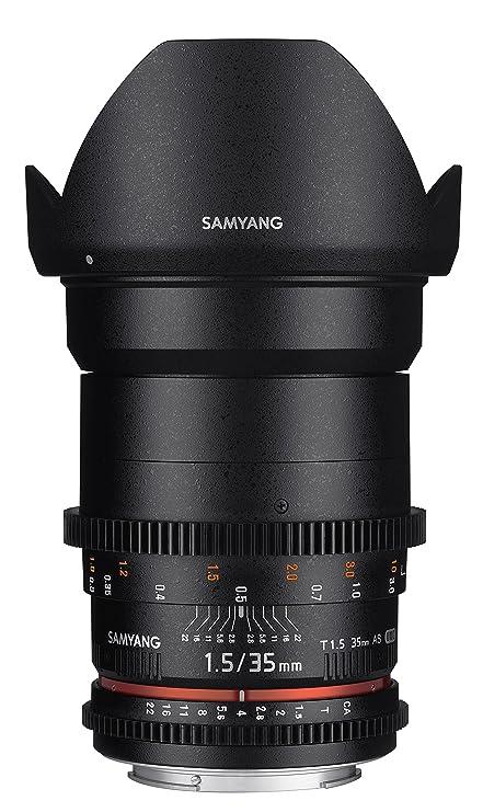 Samyang F1312902101 - Objetivo para vídeo VDSLR para Canon M ...