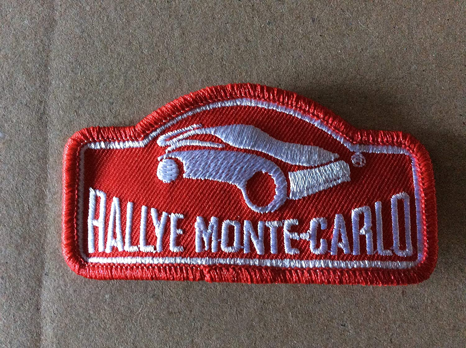 BLUE HAWAI ECUSSON Patches AUFNAHER Toppa THERMOCOLLANT - Rallye Monte Carlo 9 * 4, 5 CM