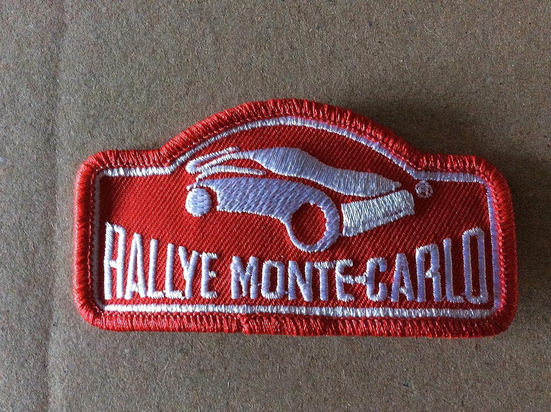BLUE HAWAI ECUSSON Patches AUFNAHER Toppa THERMOCOLLANT - Rallye Monte Carlo 9 * 4, 5 CM