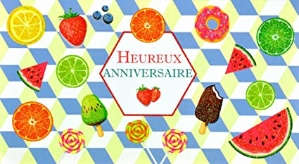 afie 69 - 4208 tarjeta feliz cumpleaños purpurina cítricos ...