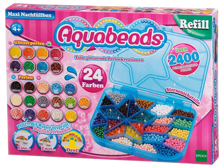 Aquabeads - 79958 - Maxi Boîte de Perles de Recharge Epoch