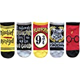 Hyp Harry Potter Kids Wizard in Training Mischief Managed 5 Pack Low Cut Socks