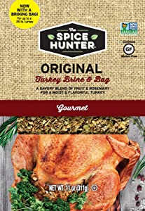 Spice Hunter Turkey Brine & Bag, Original, 11 Ounce