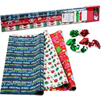Vintage Wrapping Paper Roll Christmas Party Holiday