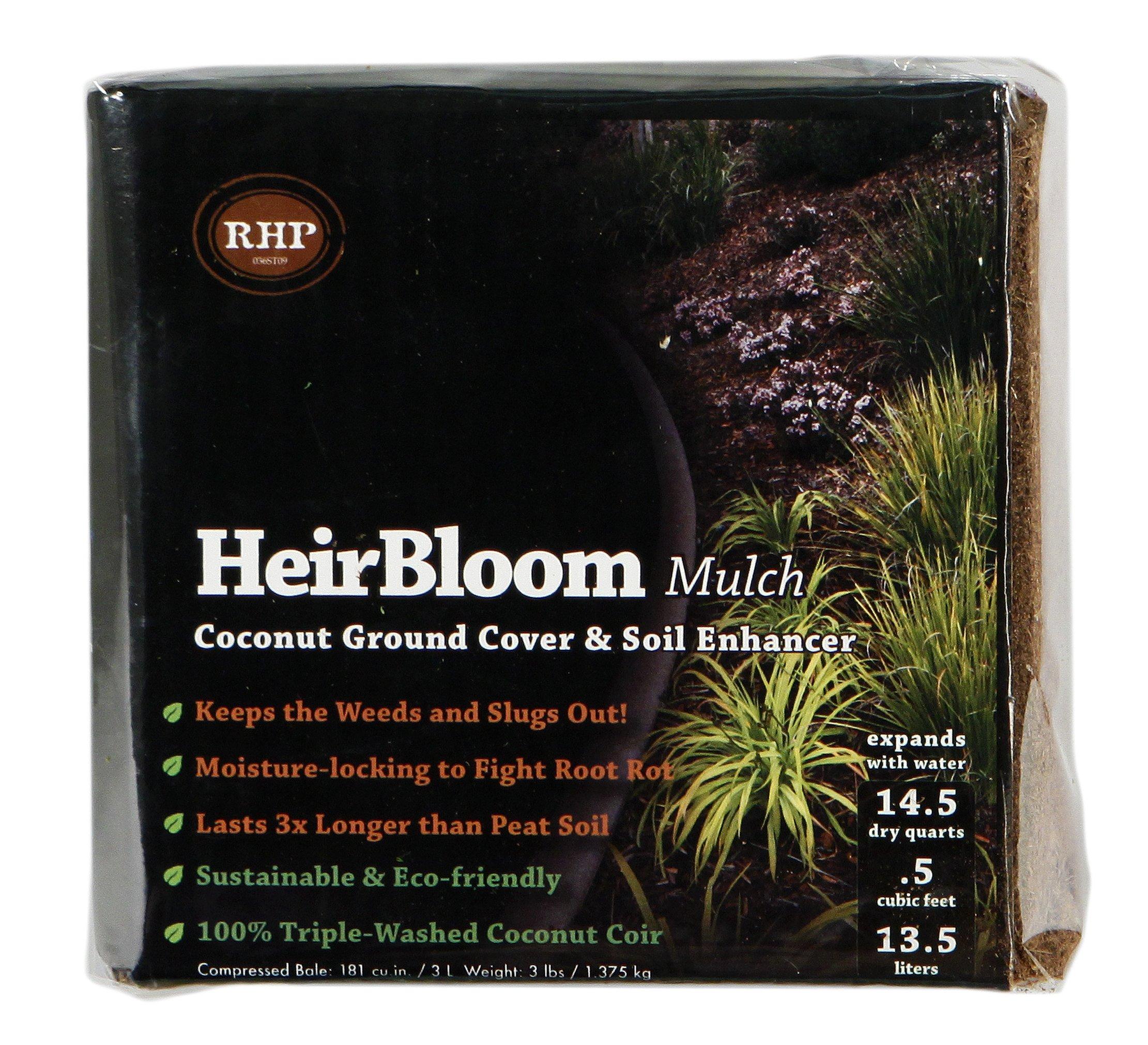 Super Moss (01500) HeirBloom Coco Mulch, Mini Bale (0.6 ft3)