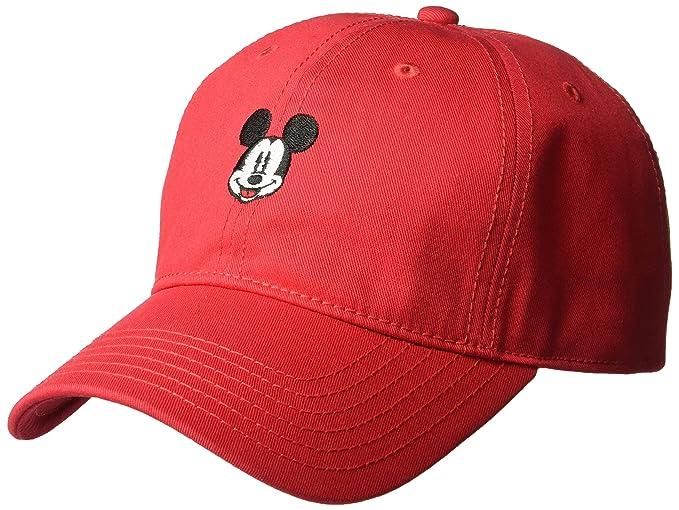 7685301ac28e51 Amazon.com: Disney Mickey Mouse Baseball Cap: Clothing