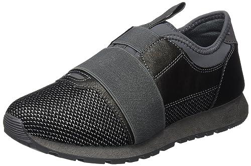 bass3d 041380, Zapatillas para Mujer, Plateado (Plomo), 39 EU