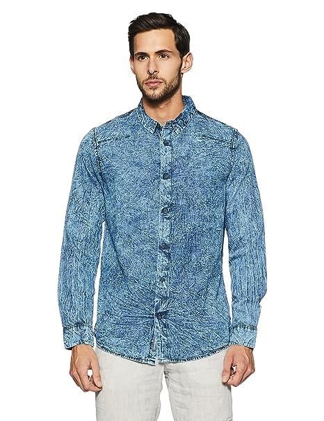 Calvin Klein Men's Casual Shirt Men's Casual Shirts at amazon