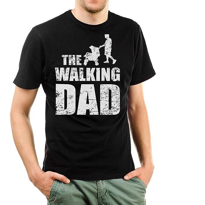 best service 549ac f8f1d Shirtinator Lustiges T-Shirt für Herren Männer The Walking Dad Geschenk für  (werdenden) Papa Geschenkideen Geburtstag Vatertag Weihnachten
