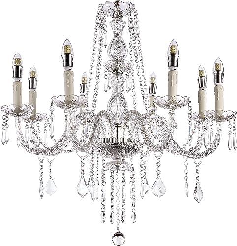 Monalisa Gallery Crystal Chandeliers Light Fixture