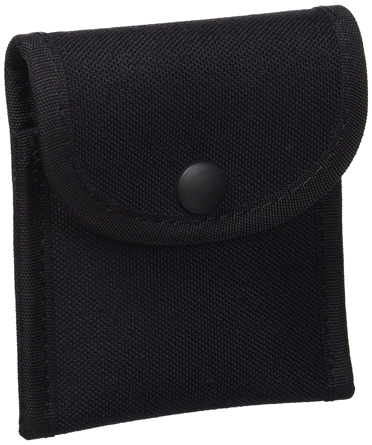 Uncle Mike's Law Enforcement 88871 Kodra Duty Nylon Web Single Snap Close Latex Glove Pouch, Black
