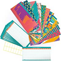 12 Cash Envelopes -Set of Laminated Budget Envelopes for Cash with Yearly Budget Card and Tracking Sheets