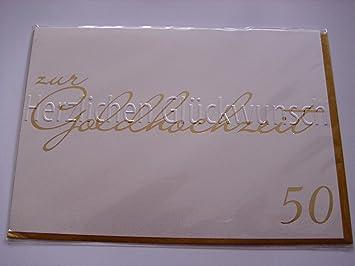 BSB Bodas de Oro tarjeta de felicitación tarjeta de regalo 50 ...