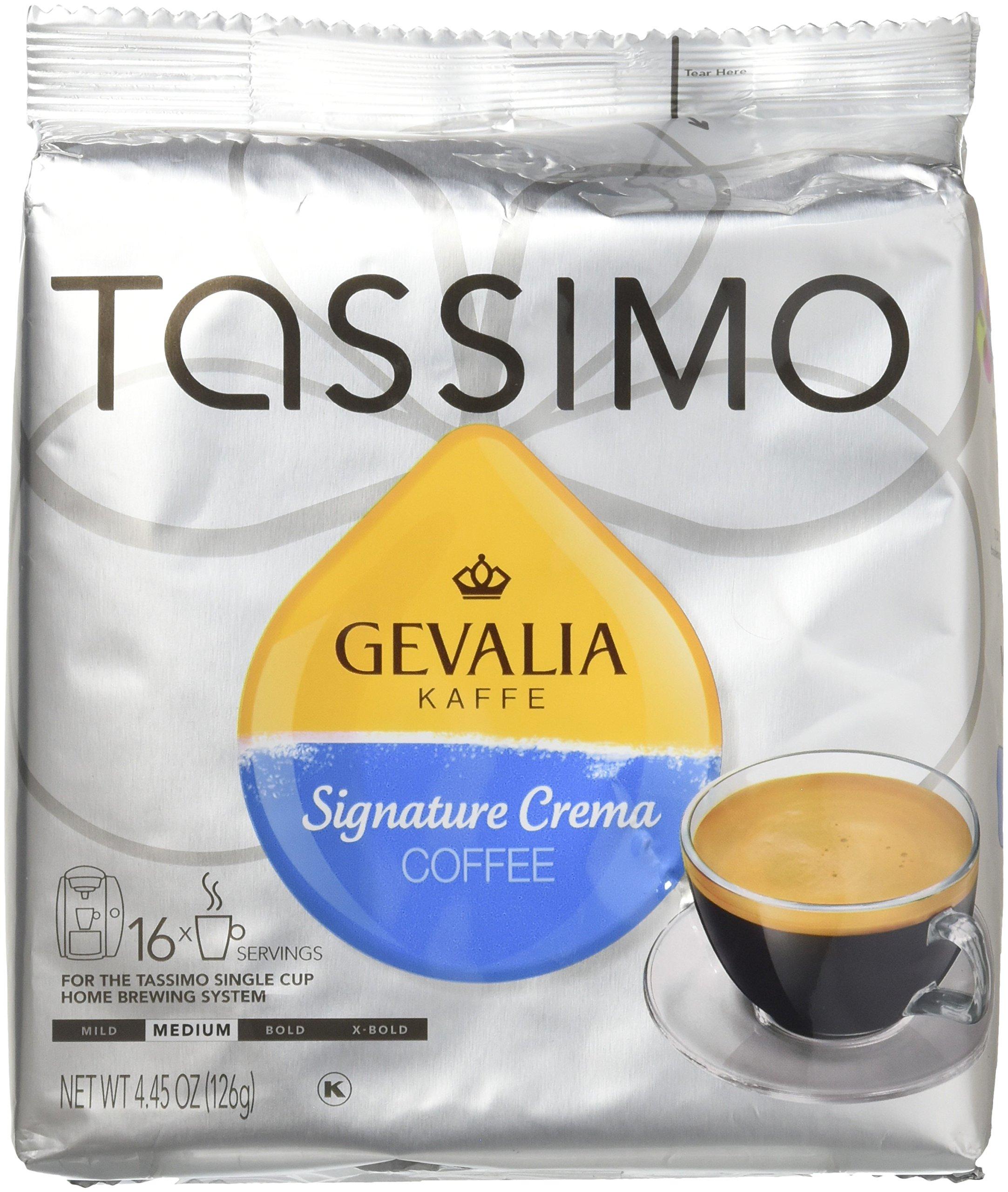 Gevalia Kaffe Signature Crema Coffee T-Discs
