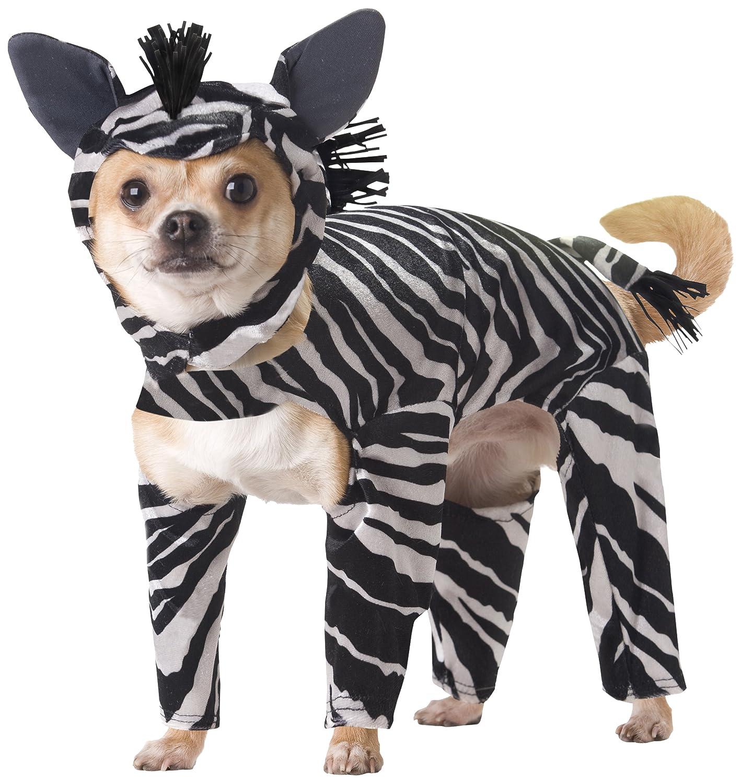 amazon com animal planet pet20100 zebra dog costume small pet