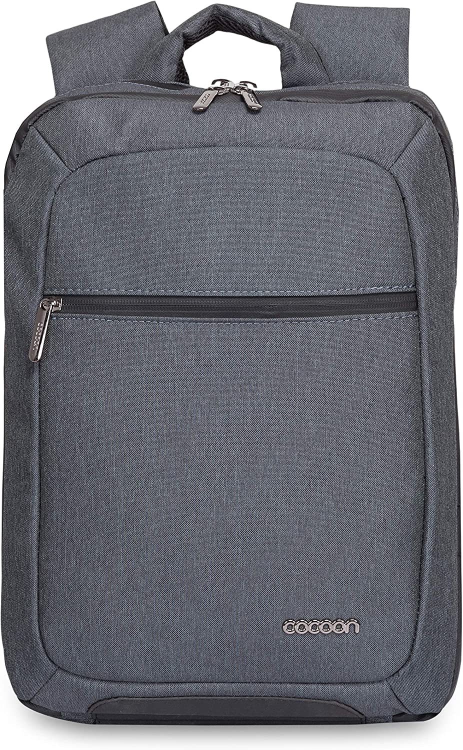 """Cocoon MCP3401GF Slim 15"""" Backpack with Built-in Grid-IT! Accessory Organizer (Graphite Gray)"""