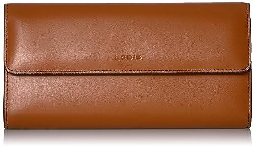 Lodis227AULK - Audrey Bolso de mano chequera con RFID Para mujer, Marrón (Toffee), Talla única: Amazon.es: Zapatos y complementos