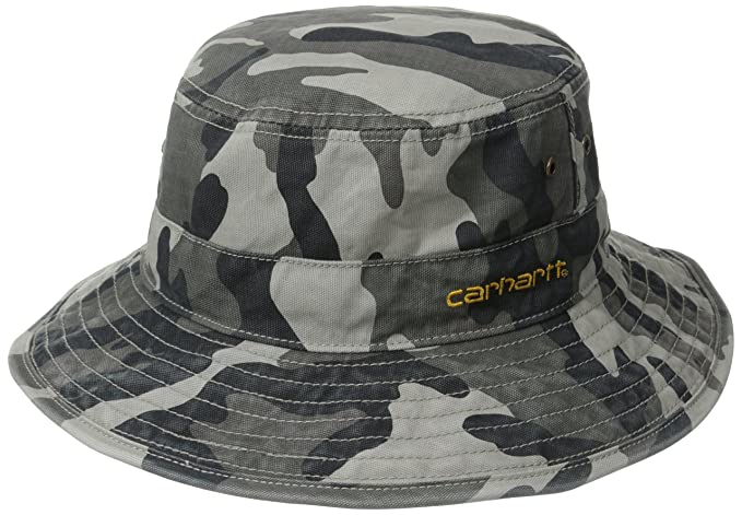 Carhartt Men s 100 Percent Cotton Fast Dry Billings Force Hat 79e82b17703