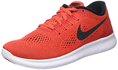 pretty nice a9090 826b3 Nike Men s Free Rn Running Shoes, Red (University Red Black Total