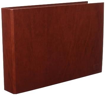 Unisystem 091762 - Carpeta de anillas, lomo 40 mm, cartón cuero ...