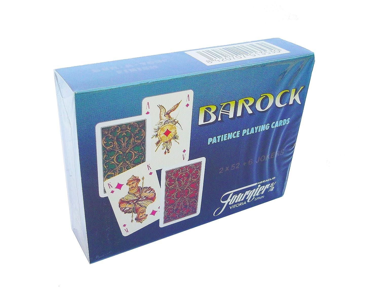 Fournier Barock, Juego de Cartas Mini Poker: Amazon.es ...
