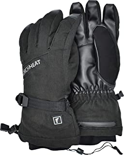 Torch Electrek Battery Powered Rechargeable Heated Gloves for Men and Women. for Warm Hands on Winter Adventures, Hunting, Working, Skiing, Snowboarding or Motorcycle Riding