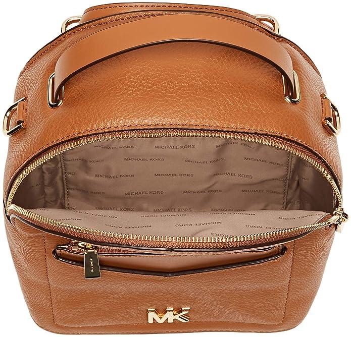 Michael Kors Womens Jessa Backpack Handbag Brown (ACORN): Handbags: Amazon.com