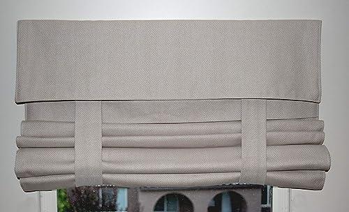 Tan Herringbone French Door Curtain