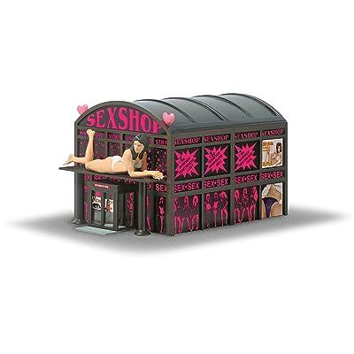 Busch 1004 Sex Shop HO Scale Building Kit: Toys & Games