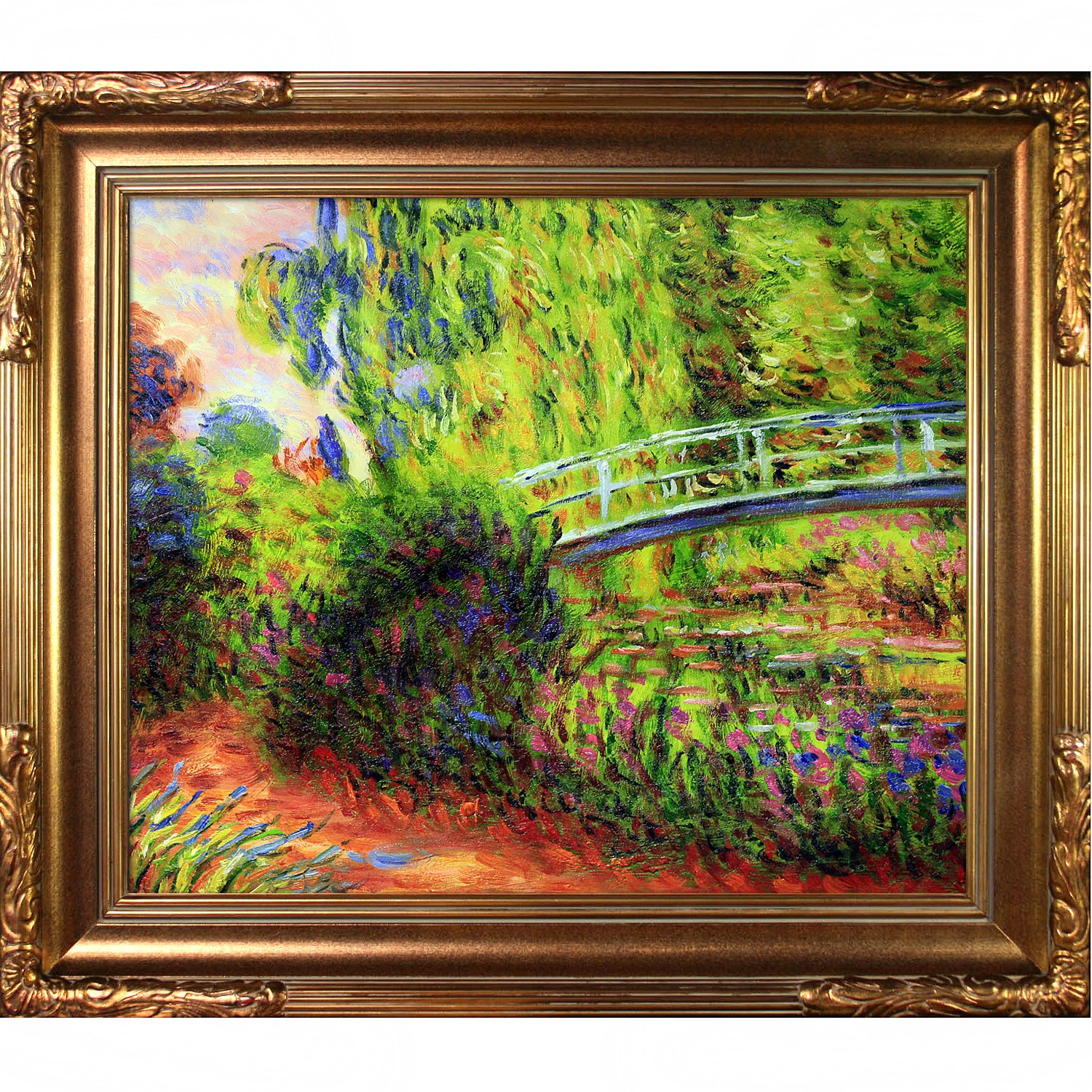 Amazon.com: Hand-Painted Reproduction of Claude Monet The Japanese ...
