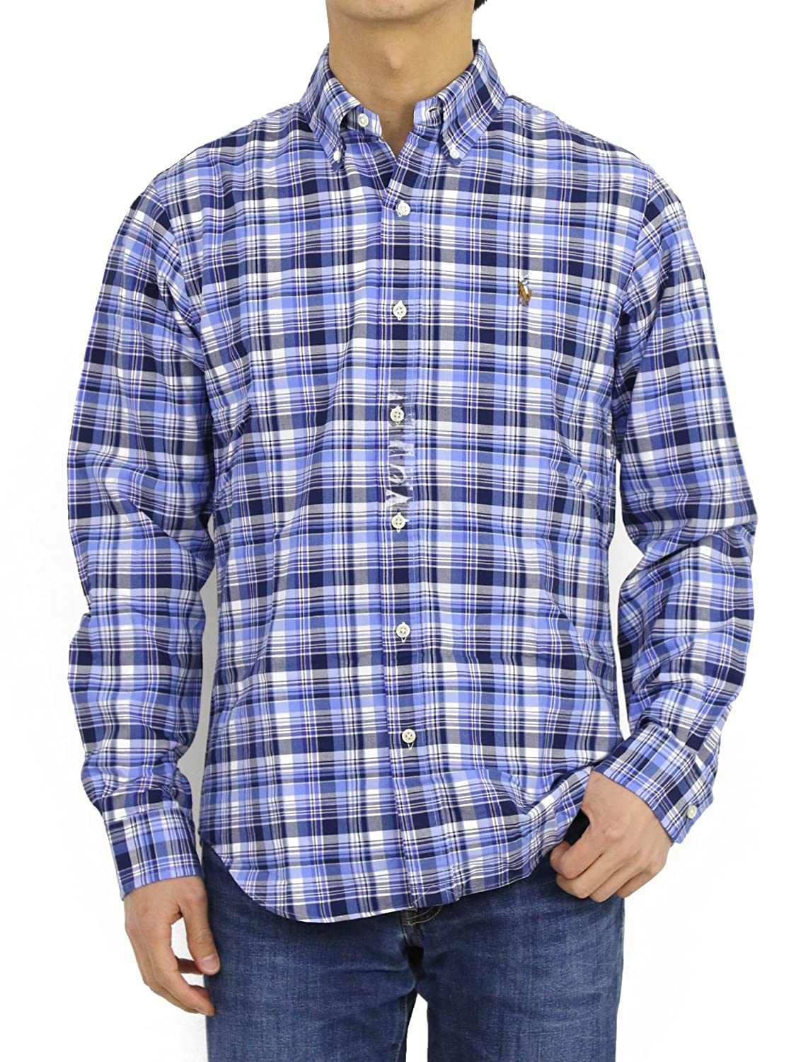 c1570160 Polo Ralph Lauren Plaid Shirt Liberty NA-XS at Amazon Men's Clothing ...
